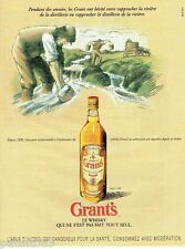 PUBLICITE ADVERTISING 116  1996   Grant's  whisky