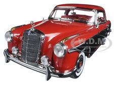 1958 MERCEDES 220SE 220 SE COUPE RED/BLACK 1/18 DIECAST MODEL CAR SUNSTAR 3569
