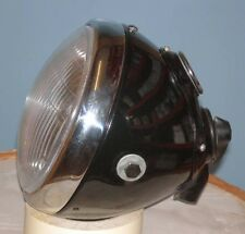 "7"" Lucas type With Panel Headlight Headlamp Bsa Triumph Norton Ajs Royal ssu700"