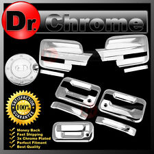 09-14 Ford F150 Chrome Mirror+2 Door Handle+keypad+PSG KH+Tailgate+Gas Cover