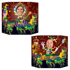 Mardi Gras Themed Photo Prop - 94 x 64 cm - Carnival Celebrations Cutout