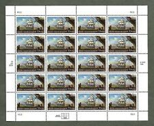 {BJ Stamps} #3286  Irish Immigration.  33¢  MNH sheet of 20.   In 1999.