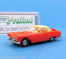 Praliné h0 5200 Ford Thunderbird'56 rojo beige OVP ho 1:87 Box