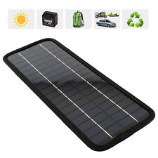 2015 Multi Portable Solar Panel Battery Charger 12V 5W for Car Car Motorcycle