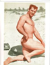 DAVID SELHIME Gay Interest 1950s Muscleboy Model Bodybuilding Muscle Photo