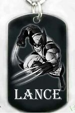 WOLVERINE-Dog tag Necklace/key chain + FREE ENGRAVING