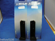 TWO Magazines  Bersa Thunder 380 mag  ACP 8 Round Finger Rest Mag 380 Clip