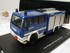 """Schuco 07136 # Iveco Magirus HLF 20/16 Technisches Hilfswerk in """" blau """" 1:43"""