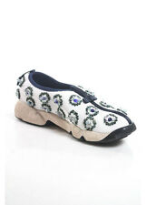 CHRISTIAN DIOR FUSION Multi-Colored Floral Sequined Slip On Sneakers Sz 8