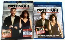DATE NIGHT BLU RAY + DVD TARGET EXCLUSIVE RARE LENTICULAR SLIPCOVER FREE SHIPING