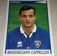 FIGURINA CALCIATORI PANINI 1998/99 EMPOLI CAPPELLINI ALBUM 1999
