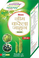 NEEM KARELA JAMUN POWDER Helps Control Diabetes High Blood Sugar & Urine Sugar