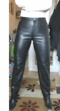 Horizon Hipster Bootleg Leather trousers Black UK10 EU38 RRP £259