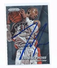 2014-15 PRIZM #4 TERRENCE ROSS AUTO AUTOGRAPHED CARD SIGNED W/COA RAPTORS