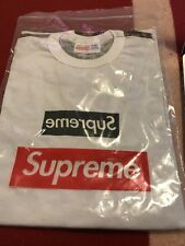 Supreme x Comme Des Garçons BOX LOGO T-Shirt Black Camo ULTRA RARE!!! MEDIUM
