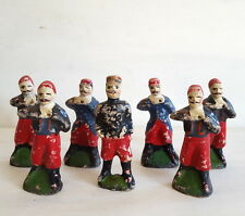 LOT 7 ANCIEN JOUETS PETITS SOLDATS FIGURINES ANTIQUE FRENCH TOY