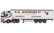 CC16003 Corgi Druckguss Lastwagen Volvo FH,Schiebeplanen Anhänger,VG Mathers 1: