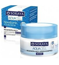 SORAYA AQUACELL REGENERATING FACE CREAM-COMPRESS NIGHT moisturizing oxygenation