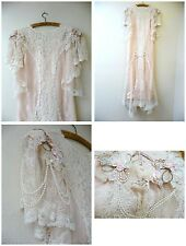Vintage Garden Wedding Gown Dress Lace Pearls Susan Lanes Country Elegance