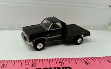 1/64 CUSTOM ERTL farm toy 1986 Chevy chevrolet k20 flatbed dually pickup truck
