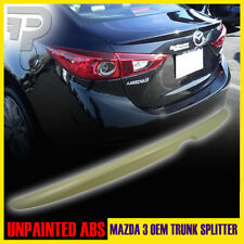 PAINTED MAZDA 3 ABS SEDAN OE-TYPE REAR TRUNK WING LIP SPOILER 2014-2016 ▼
