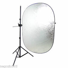 Kit Professionale Studio Cavalletto Stativo + Braccio Telescopico Giraffa 2,5mt