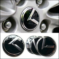3D K Logo Wheel Center Caps Hub Emblem Badge 4pcs For KIA 2011-2015 Sportage R