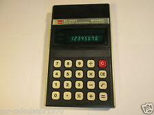 RARE SHARP ELSI MATE EL-8031 VINTAGE CALCULATOR 1970'S MADE IN JAPAN
