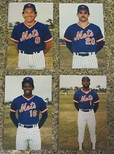 Set of 40 New York Mets 25th Anniversary Player Team Photo Postcards 1986