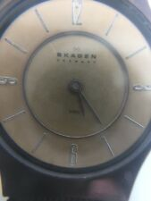 Skagen Women's Analog Dial Rare Brown Face and Brown Steel mesh band