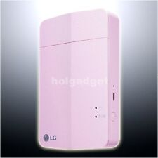 LG PD251 Pink Pocket Photo Printer for Smartphone iPhone Android iOS PoPo