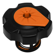 TUFF JUG QUICK FILL FUEL TANK CAP FOR KTM THREAD TYPE CAP BLACK/ORANGE