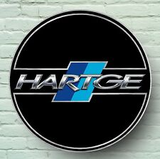 HARTGE LOGO 2FT LARGE GARAGE SIGN WALL PLAQUE CAR WORKSHOP M3 M5 BMW MINI