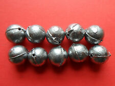 10 x 1 oz DRILLED BULLET FISHING WEIGHTS      SEA FISHING TACKLE
