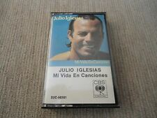 Mi Vida En Canciones (Julio Iglesias) [1980] AUDIO CASSETTE