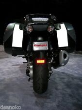 Kawasaki Concours 14 Hardbag Pannier Reflective Decals GTR1400 2007 and newer