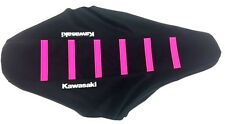 New PINK KAWASAKI Ribbed Seat Cover KX125 KX250 2002