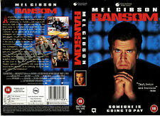 Ransom - Mel Gibson - Video Promo Sample Sleeve/Cover #16389