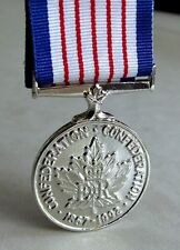 125 Anniversary of the Confederation of Canada Medal Full Size Replica & Ribbon