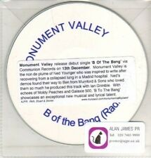 (CQ227) Monument Valley, B Of The Bang - DJ CD