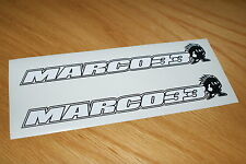 Marco Melandri Screen decals (Pair)