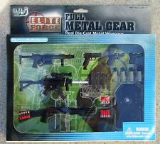 Blue Box BBi Elite Force Full Metal Gear Weapon Set 1/6 12""