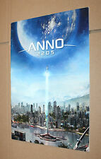 """Anno 2205 Presse Heft / Werbung / mit Poster """"Fly me to the Moon"""""""
