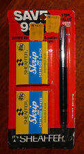 Vintage SHEAFFER Cartridge Fountain Pen: NOS-1960-1974 KMart $0.71/$0.58
