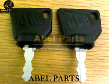 JCB PARTS 3CX - GENUINE JCB IGNITION KEYS  (2 PCS)