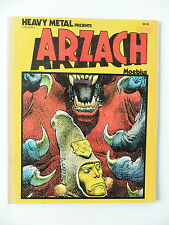 HEAVYMETAL Presents - ARZACH (Moebius)  Comic USA 1977(Softcover) Englisch