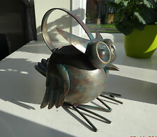 Métal hibou Arrosage peut look vintage cadeau inhabituel l'eau peut pot amusant mignon