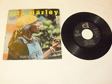 "RITA MARLEY ""THAT'S THE WAY"" disco 45 giri DURIUM 1980 Ita"