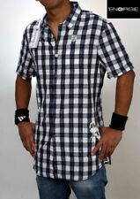 ENERGIE Herren Designer Kurzarmhemd  Größe S  + NEU +