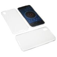 Tasche für Alcatel One Touch Idol 4 Schutz Hülle TPU Gummi Case Transparent
